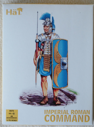 HaT 1/72 HAT8075 Imperial Roman Command (Ancients)